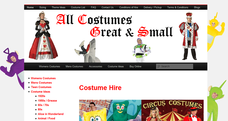 All Costumes Great and Small