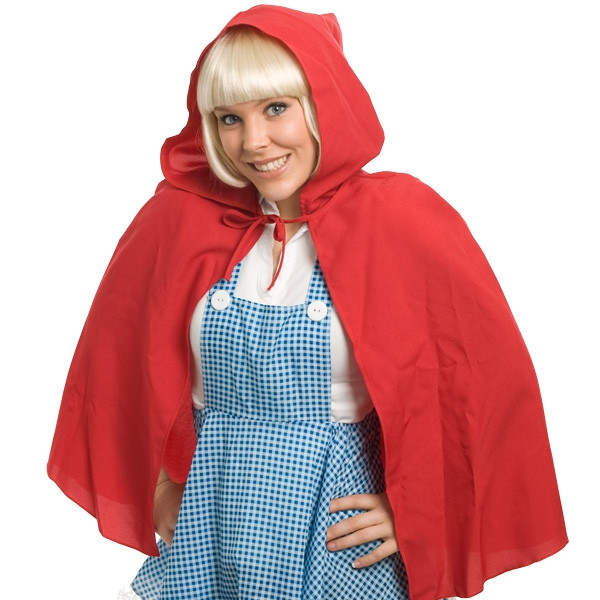 Red Riding Hood Cape Womens Costume