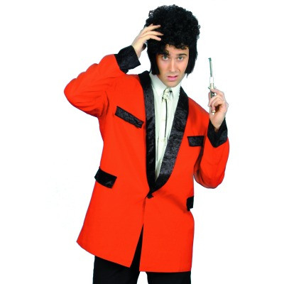 1950's Teddy Boy Mens Jacket Red