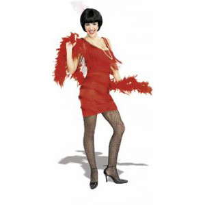 1920's Flapper Womens Costumes - Red