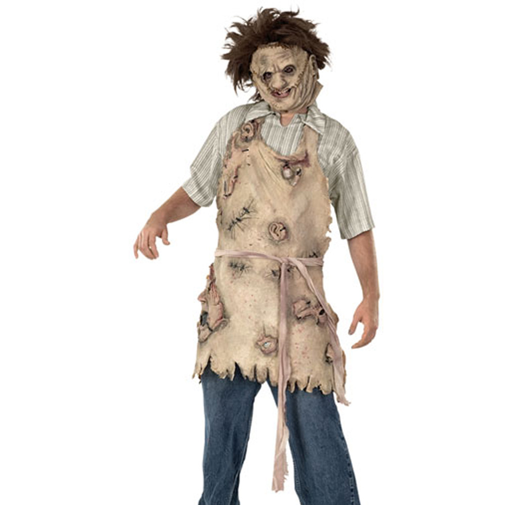 Leatherface Mens Vinyl Mask (from The Texas Chainsaw Massacre)