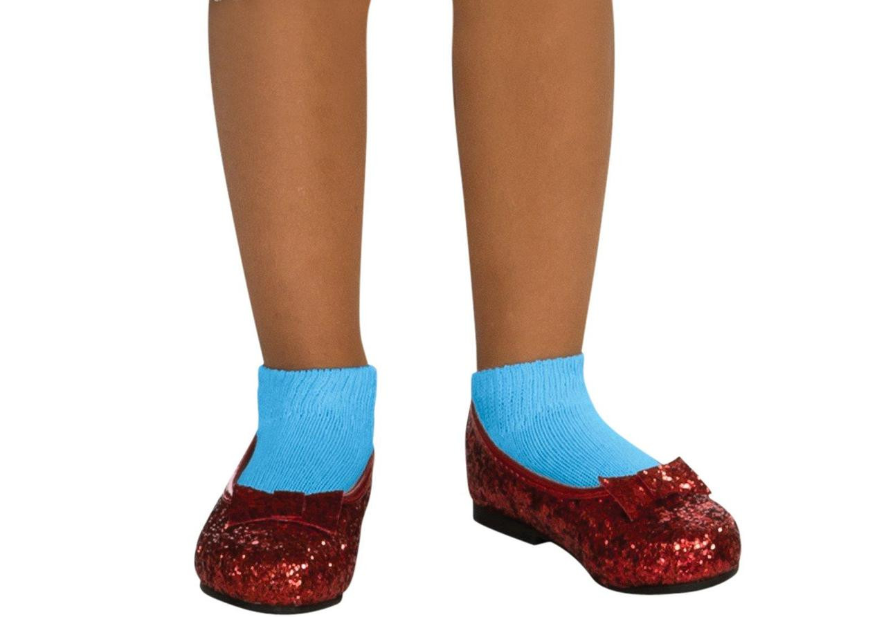 The Wizard of Oz - Dorothy Ruby Child Slippers
