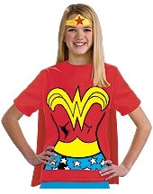 Wonderwoman T-Shirt Kids Costume