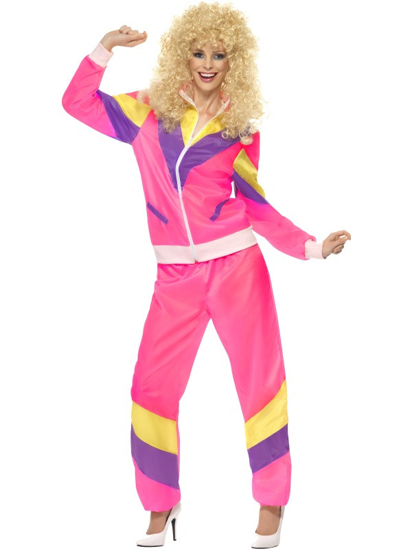 1980s Shell Suit Women's Costume