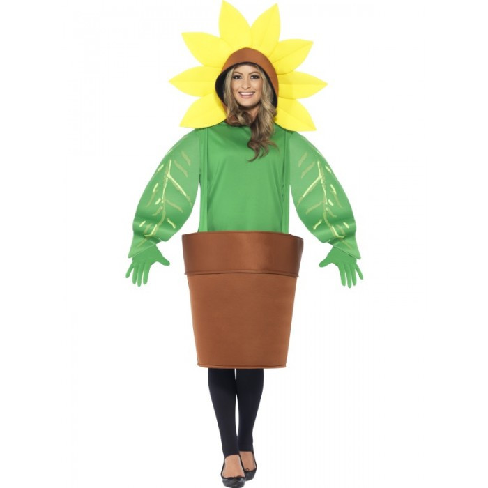 Sunflower Flower Adult Costume