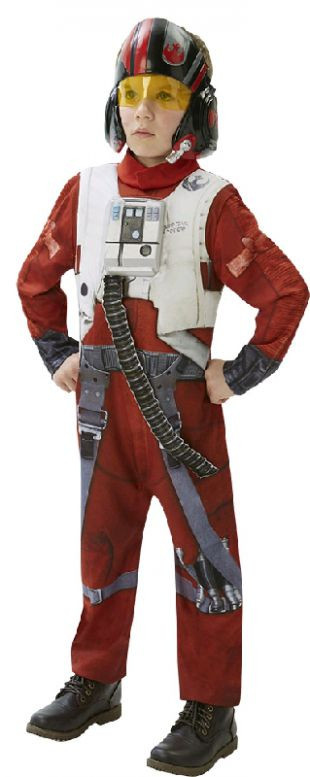 Star Wars - The Force Awakens Poe X-Wing Fighter Deluxe Boys Costume