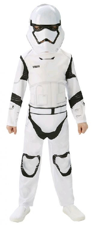 Star Wars - The Force Awakens Stormtrooper Classic Boys Costume