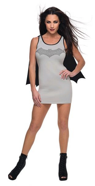 Batgirl '52' Style Tank Dress Women's Costume