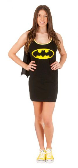 Batgirl Tank Dress Women's Costume