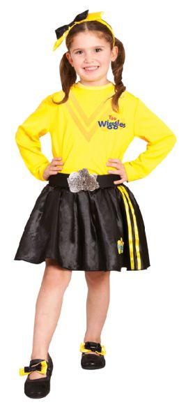 Wiggles Emma Girls Headband & Shoe Bows