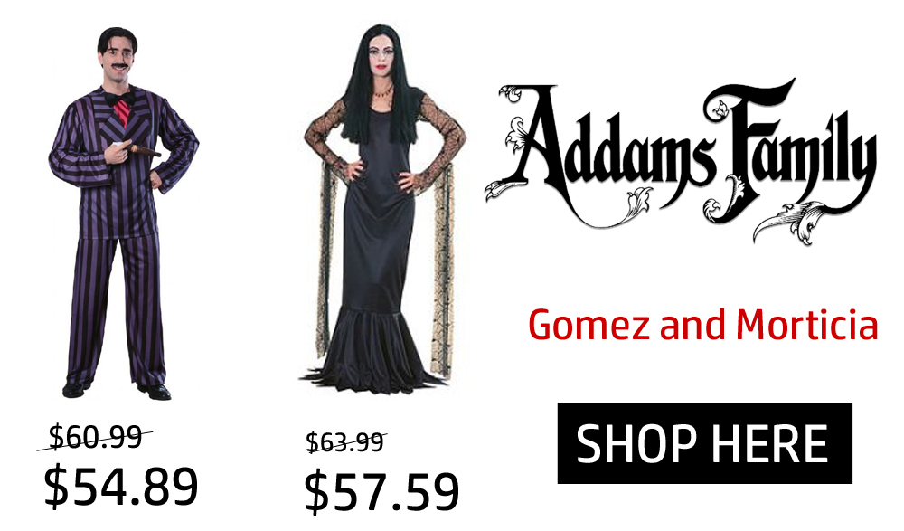 addams family costume online halloween cheap free shipping sydney