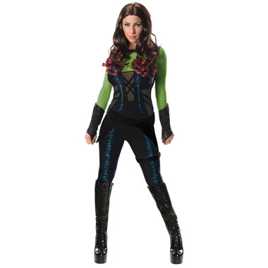 guardians of the galaxy gamora womens costume